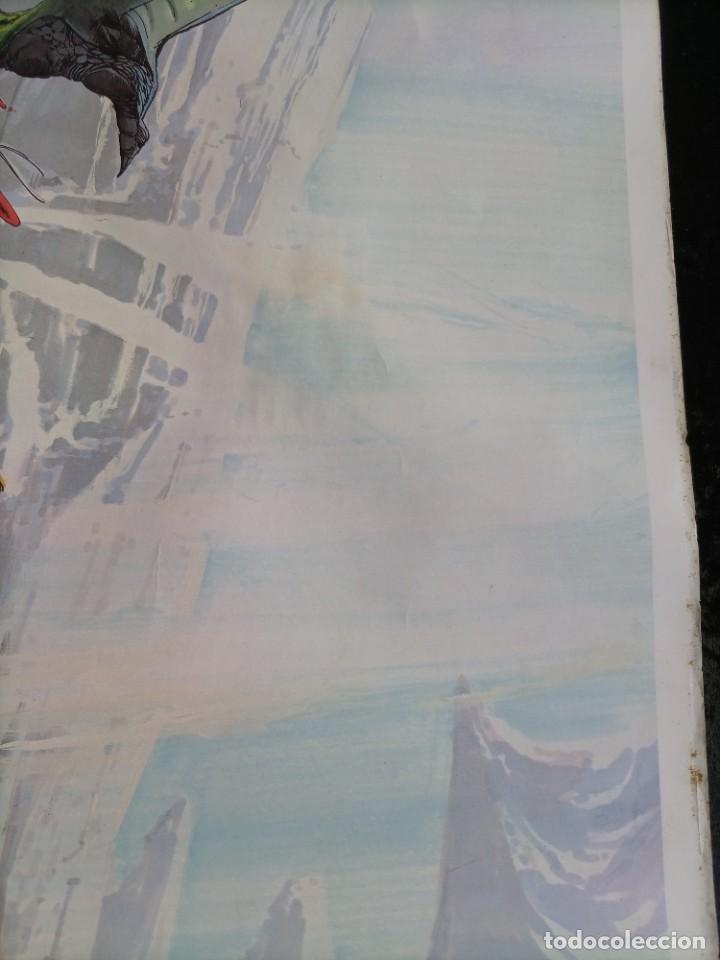 Cómics: CARTEL POSTER - THE BATTLER - NEAL ADAMS - 57,5x46 cm - 1977 SAL QUARTUCCIO - Foto 6 - 251125015