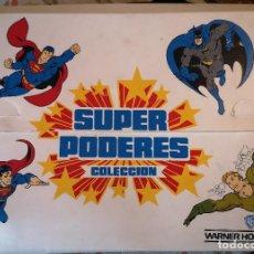 Cómics: SUPER PODERES COLECCION SUPER POWERS SUPERMAN BATMAN - MALETÍN. Lote 252735295