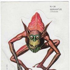 Fumetti: BRUGUERA -- Nº 34 SERVANTUS -- NUNCA PEGADO. Lote 252911895
