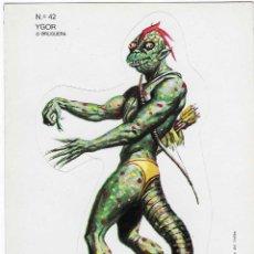 Fumetti: BRUGUERA -- Nº 42 YGOR -- NUNCA PEGADO. Lote 252912925