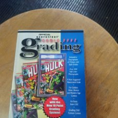 Cómics: CÓMIC BOOK GRADING (GEMSTONE). Lote 252959200