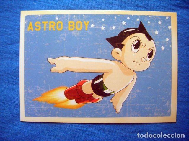 POSTAL ASTRO BOY ANIME OSAMO TEZUKA DIBUJOS ANIMADOS JAPON (Tebeos y Comics - Comics Merchandising)
