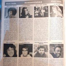 Cómics: ELVIS PRESLEY CARLOS CANO PELE LEO SAYER ETTA CAMERON MARIA OSTIZ RAFAELLA CARRA. Lote 254291940