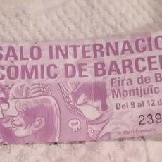 Cómics: 23 SALÓN DEL CÓMIC DE BARCELONA. 2005. ENTRADA INVITACIÓN . EXCELENTE ESTADO. Lote 262126235