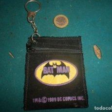 Cómics: BATMAN - LLAVERO MONEDERO - DC COMICS 1989 (BAT MAN). Lote 262671485