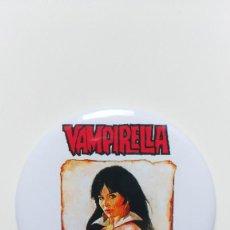 Comics : CHAPA DE VAMPIRELLA (SANJULIAN) - IMAN DE 58 MM. Lote 263124265
