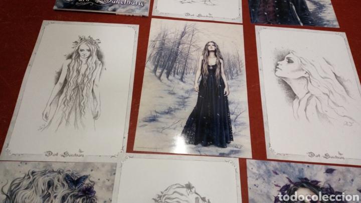 Cómics: Lote 10 laminas dibujos victoria francés dark santuary 39x26 aproximadamente - Foto 4 - 265433819