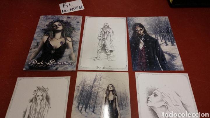 Cómics: Lote 10 laminas dibujos victoria francés dark santuary 39x26 aproximadamente - Foto 5 - 265433819