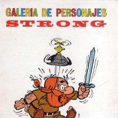 Comics: LAMINA GALERIA DE PERSONAJES DE STRONG, ( ULTRASON EL VIKINGO ). Lote 267280959