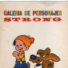 Comics: LAMINA GALERIA DE PERSONAJES DE STRONG, ( QUIQUE Y LUCIO ). Lote 267281159