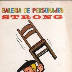 Comics: LAMINA GALERIA DE PERSONAJES DE STRONG, ( BENITO SANSON ). Lote 267281269