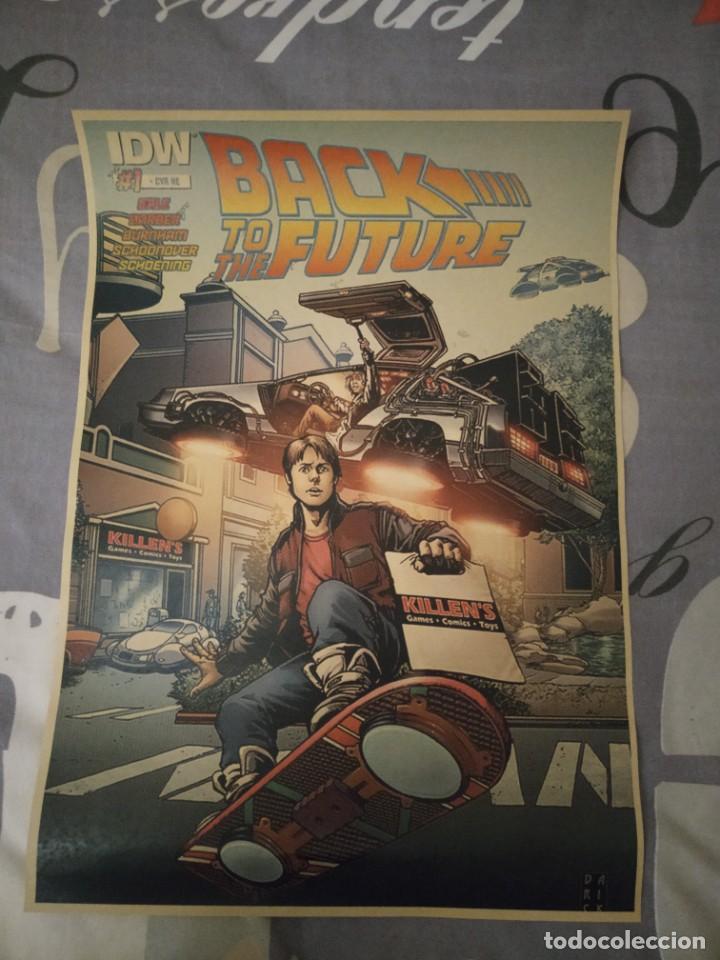 CARTEL POSTER REGRESO AL FUTURO ELABORADO CON PAPEL-CARTÓN Y TINTA DE ALTA CALIDAD 2 (Tebeos y Comics - Comics Merchandising)