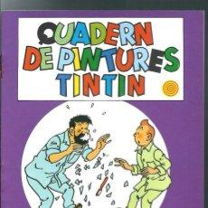 Comics: HERGE - QUADERNS DE PINTURES DE TINTIN P8 - ED JOVENTUT 1982 1ª PRIMERA EDICIO, IMPECABLE, UNIC A TC. Lote 276475453
