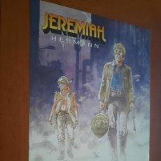 Cómics: JEREMIAH. HERMANN. POSTER PROMOCIONAL FORMATO A4. EN FRANCÉS. PROMO POR LA OTRA CARA. DIFICIL. Lote 277071898