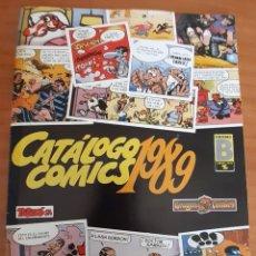 Cómics: CATÁLOGO COMICS 1989 - PERFECTO ESTADO. Lote 285582618