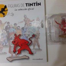 Comics: FIGURAS DE TINTIN COLECCION OFICIAL Nº 51 MILU DEMONIO + LIBRO Y PASAPORTE, UNICO EN TC. Lote 287728193