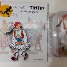 Comics: FIGURAS DE TINTIN COLECCION OFICIAL Nº 59 HERNANDEZ DE SYLDAVO + LIBRO Y PASAPORTE, UNICO EN TC. Lote 287729033