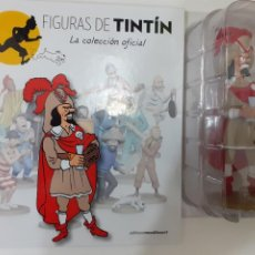 Comics: FIGURAS DE TINTIN COLECCION OFICIAL Nº 64 RACKHAM EL ROJO + LIBRO Y PASAPORTE, UNICO EN TC. Lote 287729873