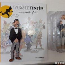 Cómics: FIGURAS DE TINTIN COLECCION OFICIAL Nº 14 MITSUHIRATO - LIBRO Y PASAPORTE - UNICO EN TC - PRECINTADA. Lote 287743643