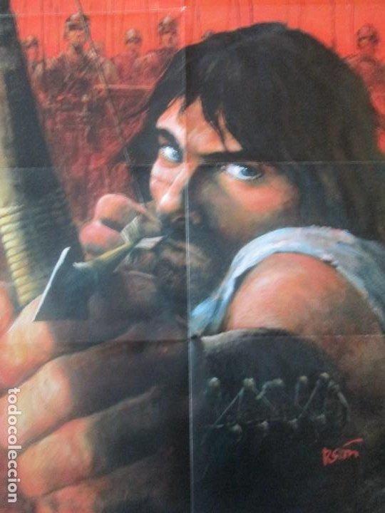 THORGAL--POSTER 100 X 50 CM.DARGAUD--LOMBARD 2012 (Tebeos y Comics - Comics Merchandising)