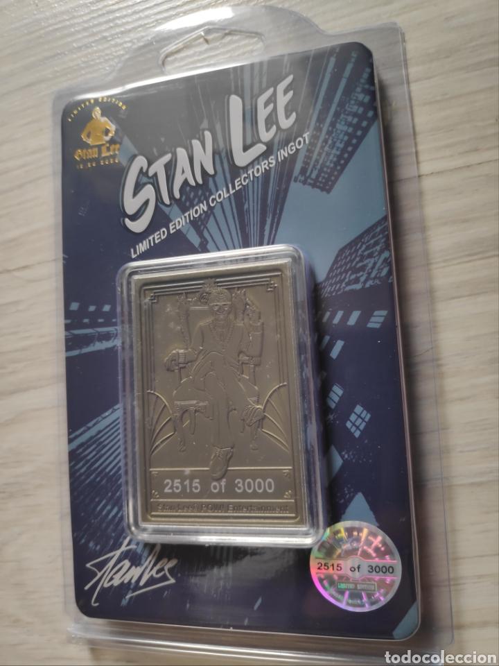 Cómics: Lingote ingot oficial Stan Lee Marvel edición limitada numerada nuevo - Foto 2 - 287792203
