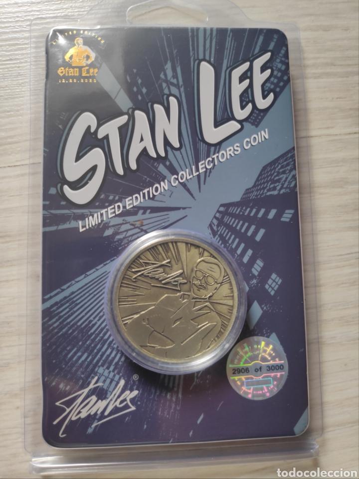 Cómics: moneda Stan Lee Marvel edición limitada numerada - Foto 2 - 287792608