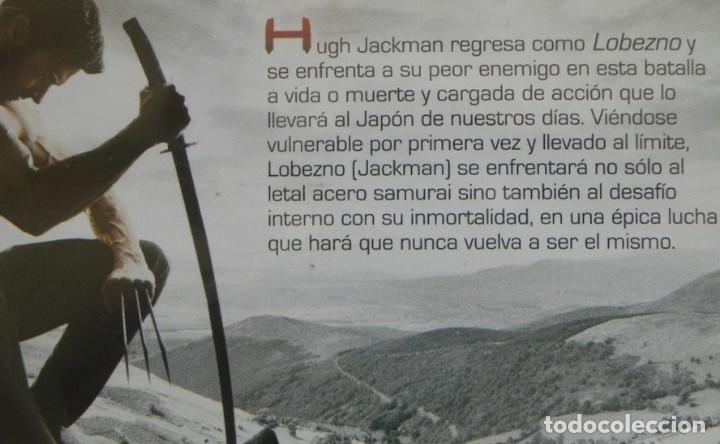 Cómics: DVD PELÍCULA - LOBEZNO INMORTAL - ACCIÓN LUCHA - HUGH JACKMAN - JAPÓN - PERSONAJE DE CÓMIC +16 AÑOS - Foto 2 - 287935418