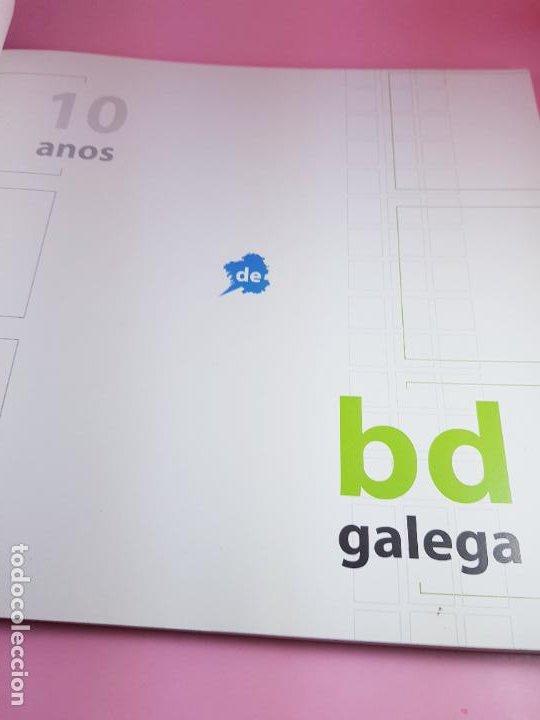 Cómics: catálogo-10 AÑOS BANDA DISEÑO GALEGA-2007-XUNTA DE GALICIA-COMICS-COLECCIONISTAS. - Foto 3 - 287948013