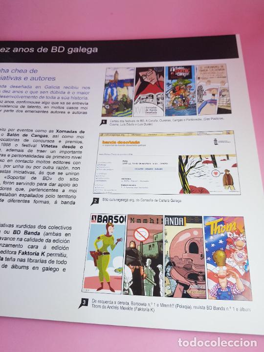 Cómics: catálogo-10 AÑOS BANDA DISEÑO GALEGA-2007-XUNTA DE GALICIA-COMICS-COLECCIONISTAS. - Foto 5 - 287948013