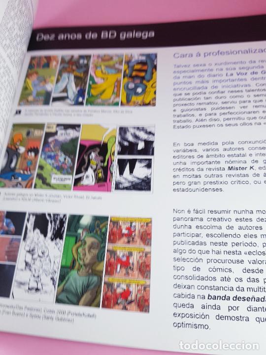 Cómics: catálogo-10 AÑOS BANDA DISEÑO GALEGA-2007-XUNTA DE GALICIA-COMICS-COLECCIONISTAS. - Foto 6 - 287948013