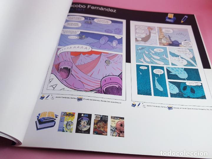 Cómics: catálogo-10 AÑOS BANDA DISEÑO GALEGA-2007-XUNTA DE GALICIA-COMICS-COLECCIONISTAS. - Foto 7 - 287948013
