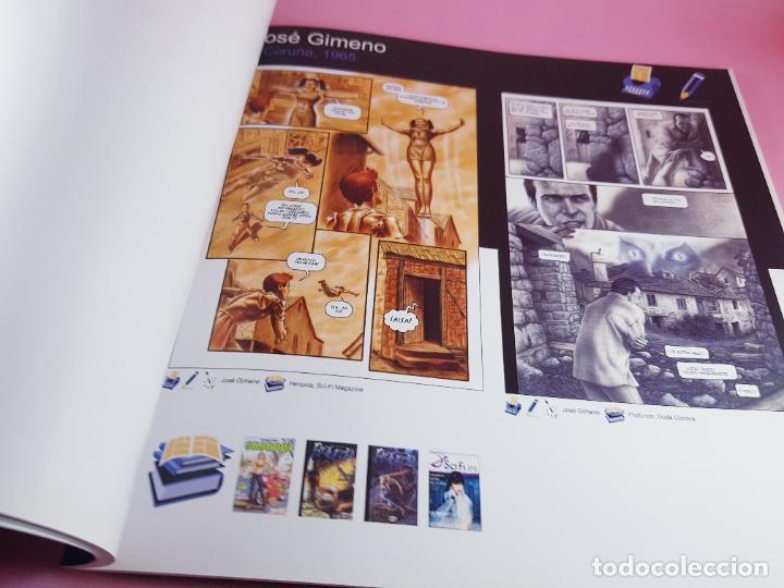 Cómics: catálogo-10 AÑOS BANDA DISEÑO GALEGA-2007-XUNTA DE GALICIA-COMICS-COLECCIONISTAS. - Foto 8 - 287948013