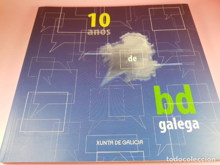 Cómics: catálogo-10 AÑOS BANDA DISEÑO GALEGA-2007-XUNTA DE GALICIA-COMICS-COLECCIONISTAS. - Foto 9 - 287948013