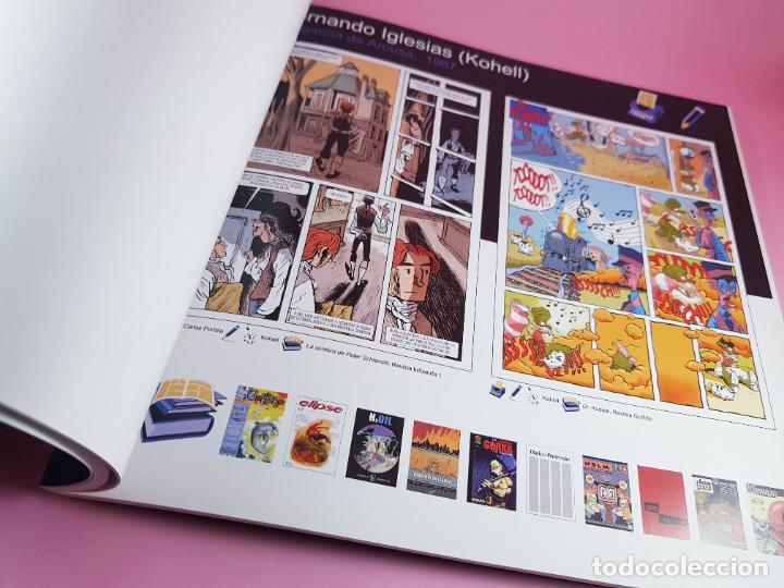 Cómics: catálogo-10 AÑOS BANDA DISEÑO GALEGA-2007-XUNTA DE GALICIA-COMICS-COLECCIONISTAS. - Foto 11 - 287948013