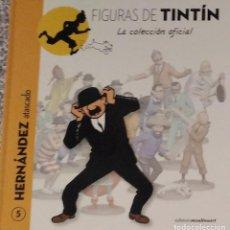 Cómics: FIGURAS TINTIN (SOLO LIBRO) 5-HERNANDEZ ATASCADO. Lote 288338983