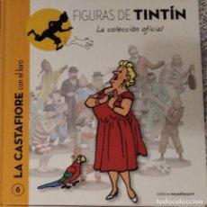 Cómics: FIGURAS TINTIN (SOLO LIBRO) 6 CASTAFIORE LORO. Lote 288340543
