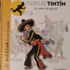 Cómics: FIGURAS TINTIN (SOLO LIBRO) 10 ALCAZAR CUCHILLOS. Lote 288382258