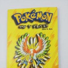 Cómics: POKEMON ORO Y PLATA JASON R. RICH NINTENDO. Lote 297097188