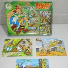 Cómics: PUZZLE PUZZLES ASTERIX. PIQUÉ, AÑO 1982, LEER DESCRIPCIÓN. Lote 297112138