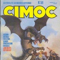 Cómics: CIMOC Nº 58. Lote 5071172