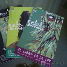 Cómics: LA CASA DE LOS SECRETOS: EL LIBRO DE LA LEY. Lote 22108942