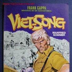 Cómics: FRANK CAPPA- MEMORIAS DE UN CORRESPONSAL EN 'VIET-SONG', DE MANFRED SOMMER.CIMOC EXTRA COLOR Nº 57. . Lote 21760515