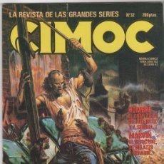 Cómics: CIMOC 1981, LOTE 40 NºS, 13 AL 34, 38,39,41 AL 53, 56,,68,133, SUELTOS A 3 € UNIDAD. Lote 24396750