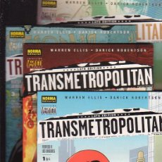Cómics: TRANSMETROPOLITAN - REGRESO ALOS ORIGENES - SERIE COMPLETA EN 4 EJEMPLARES / AUTOR: WARREN ELLIS. Lote 12353463