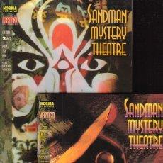 Cómics: SANDMAN MYSTERY THEATRE - LA CARA ( SERIE COMPLETA EN DOS EJEMPLARES ). Lote 18352120