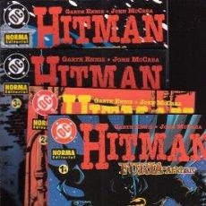 Cómics: HITMAN - FURIA EN ARKHAM , SERIE COMPLETA EN 4 EJEMPLARES. Lote 12933736