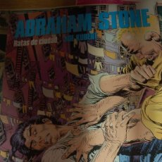 Cómics: JOE KUBERT. ABRAHAN STONE: RATAS DE CIUDAD. 1992. Lote 7961719