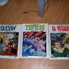 Cómics: DANIEL TORRES TRITON SAXXON EL MISTERIO DE SUSURRO TAPA DURA NUEVOS SIN DESPRECINTAR. Lote 26356126
