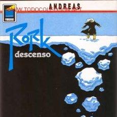 Cómics: RORK. DESCENSO POR ANDREAS. Lote 26537912
