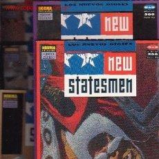 Cómics: NEW STATESMEN , LOS NUEVOS DIOSES - SERIE COMPLETA EN 5 EJEMPLARES - EDITA: NORMA EN 1991. Lote 19404787
